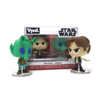 Pack 2 Vynl. Star Wars - Han Solo & Greedo