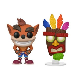 Pack 2 Pop - Aku-Aku & Crash Bandicoot