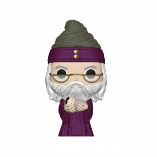 "Figurine Pop Harry Potter ""Dumbledore w/ bébé Harry"""