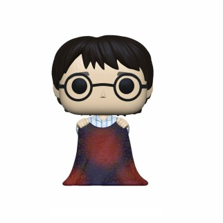 "Figurine Pop Harry Potter ""Harry w/ cape d'invisibilité"""