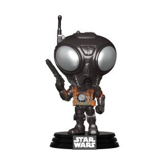 Figurine Funko Pop Q9-Zero - Star Wars - Mandalorian N°349