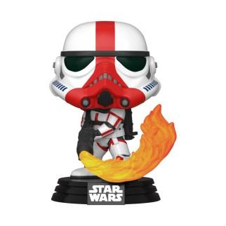 "Figurine Pop Star Wars - Mandalorian ""Stormtrooper Incinérateur"""