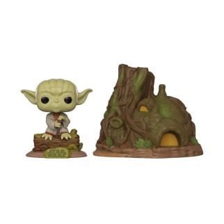 "Figurine Pop Star Wars - ""Yoda et sa hutte"""