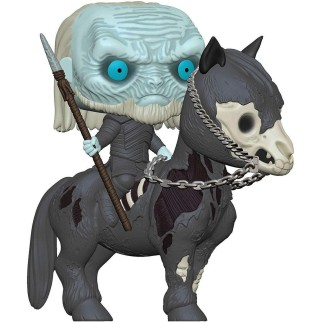 "Figurine Pop XL Games of Thrones ""Marcheur blanc sur monture"""