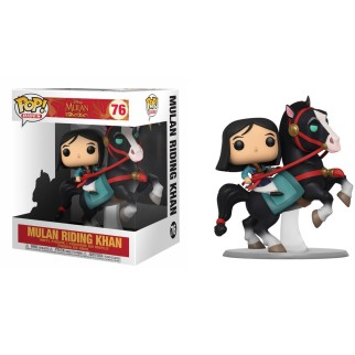 "Figurine Pop XL Mulan - ""Mulan riding Khan"" N°76"