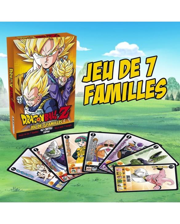 Jeu de 7 familles Dragon Ball Z