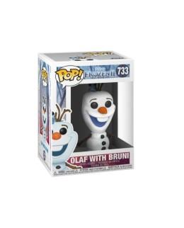 "Figurine Pop La Reine des Neiges 2 - ""Olaf & Bruni"" N°733"