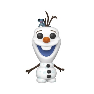 Figurine Funko Pop Olaf et Bruni - La Reine des Neiges 2 N°733