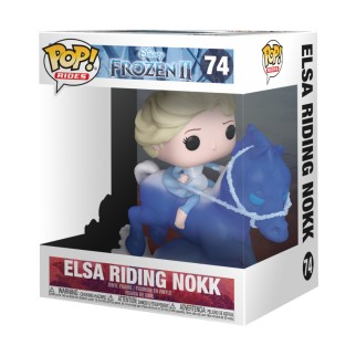 "Figurine Pop La Reine des Neiges 2 - ""Elsa riding Nokk"" N°74"
