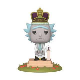 "Figurine Pop sonore XL Rick & Morty - ""King of Sh**"" N°694"
