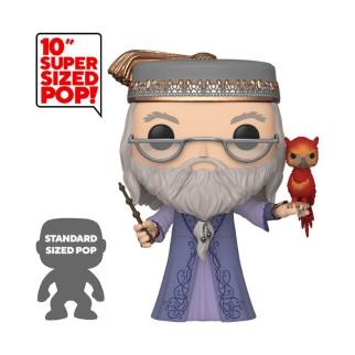 Figurine Funko Pop XXL Dumbledore avec Fumseck - Harry Potter 25cm N°110