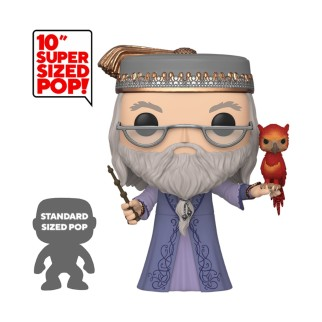 "Figurine Pop XXL Harry Potter - ""Dumbledore avec Fumseck"" 25cm"
