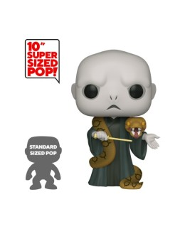 Figurine Funko Pop XXL Voldemort avec Nagini - Harry Potter 25cm