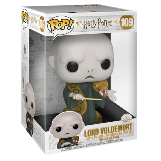 "Figurine Pop XL Harry Potter - ""Voldemort avec Nagini"" 25cm"