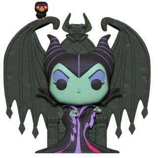 Figurine Pop Disney Vilains XL - Maléfique sur trône