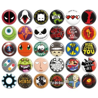 20 badges collector Hitek
