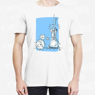 """T-shirt """"You Shall Not Pass Coronavirus !"""""""