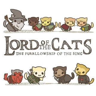 "T-shirt ""Lord Of The Cats"""