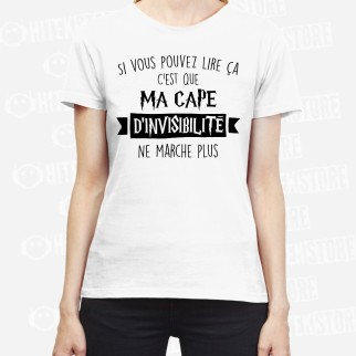 "T-shirt ""Cape d'invisibilité """