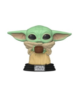 """Figurine Pop Star Wars - Mandalorian """"The Child with Cup"""""""