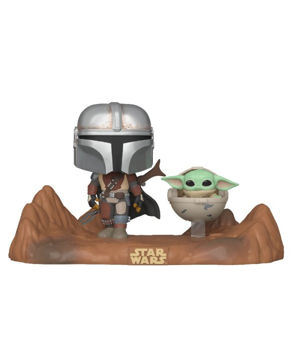 "Figurine Pop XL Star Wars - Mandalorian ""Mandalorian & The Child"""