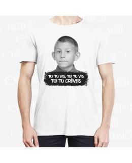 """T-shirt """"Toi tu vis, toi tu vis, toi tu crèves"""""""