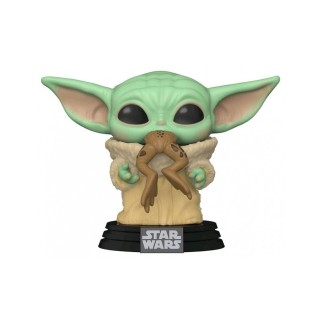 "Figurine Pop Star Wars - Mandalorian ""The Child with Frog"""