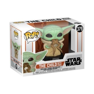 """Figurine Pop Star Wars - Mandalorian """"The Child with Frog"""""""