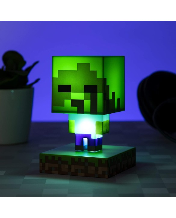 Mini lampe Minecraft - Zombie