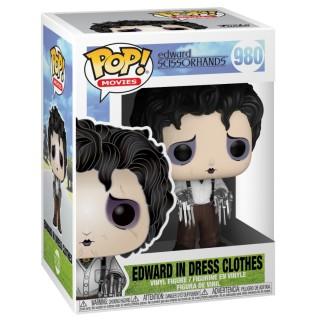 Figurine Pop Edward aux mains d'argent - Edward habits de soirée