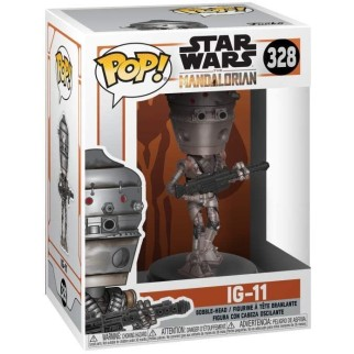 "Figurine Pop Star Wars - Mandalorian ""IG-11"""