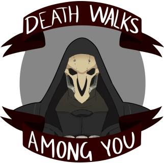 "T-shirt ""Death Walks Among You"""