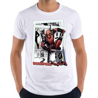 T-Shirt Deadpool comics + Lampe logo Deadpool OFFERTE