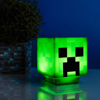 Lampe sonore Minecraft - Creeper