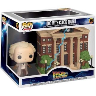 """Figurine Pop Town : RVLF - """"Doc & Hôtel de ville"""""""