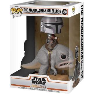 "Figurine Pop XL Star Wars - Mandalorian ""Mandalorien sur Blurg"""