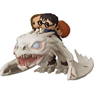 Figurine Pop! Ride Harry, Ron, Hermione sur Dragon de Gringotts