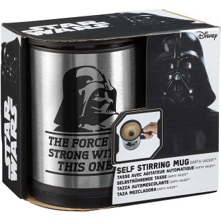 Mug Star Wars Dark Vador - Mélangeur Automatique