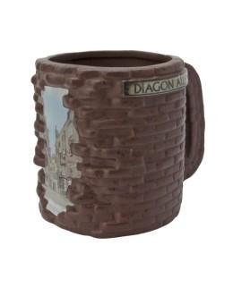 Mug 3D Harry Potter - Chemin de traverse