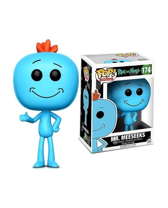 """Figurine Pop Rick&Morty - """"Mr. Meeseeks"""" N°174"""