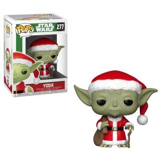 Figurine Funko Pop Yoda Noël N°277 - Star Wars