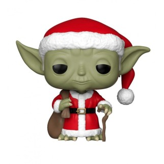 Figurine Funko Pop Yoda Noël N°277 - Star Wars