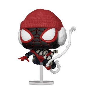 Figurine Funko Pop Spider-Man Miles Morales - Costume d'Hiver N°771