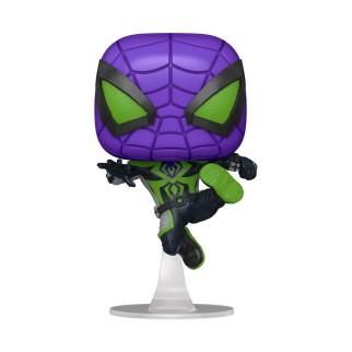 Figurine Funko Pop Spider-Man Miles Morales - Règne Violet (Metallic)