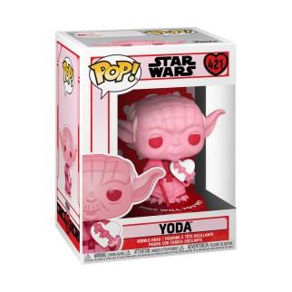 Figurine Funko Pop Star Wars St Valentin - Yoda avec un coeur N°421