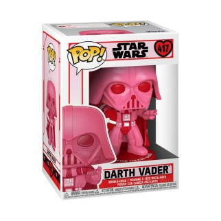 Figurine Funko Pop Star Wars St Valentin - Dark Vador avec un coeur N°417
