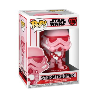 Figurine Funko Pop Star Wars St Valentin -Stormtrooper avec un coeur N°418