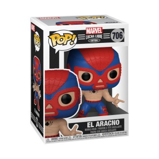 Figurine Funko Pop - Spider-Man en Lucha Libre - Marvel N°706