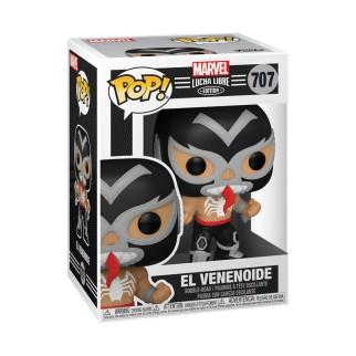 Figurine Funko Pop - Venom en Lucha Libre - Marvel N°707