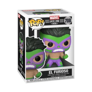 Figurine Funko Pop - El Furioso - Marvel/Lucha Libre N°708